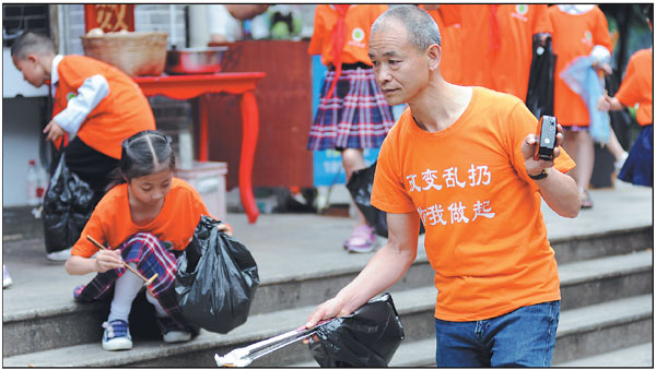 Trash-talking millionaire cleans up the streets