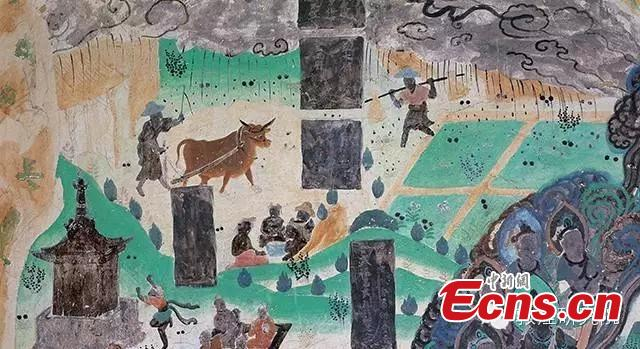 Dunhuang grotto paintings feature festival[1]