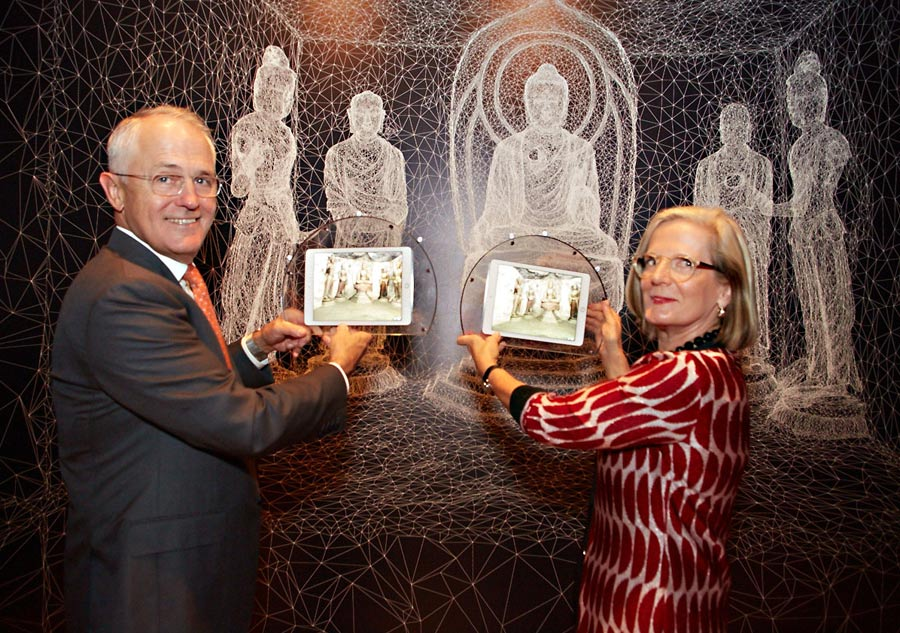 Australian Prime Minister visits Tang Dynasty exhibition[1]