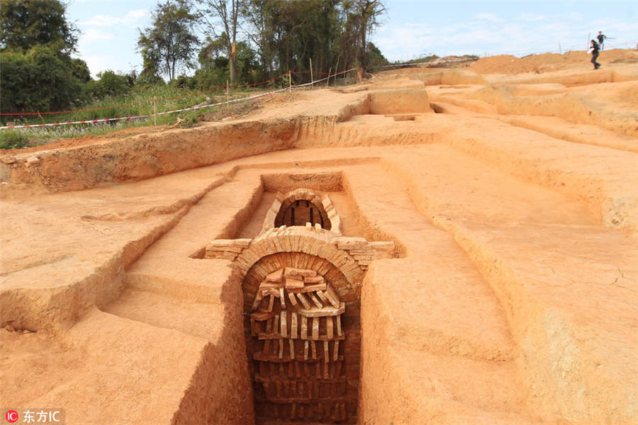 25 tombs spanning Shang and Ming dynasties unearthed in Guangzhou[1]- Chinadaily.com.cn
