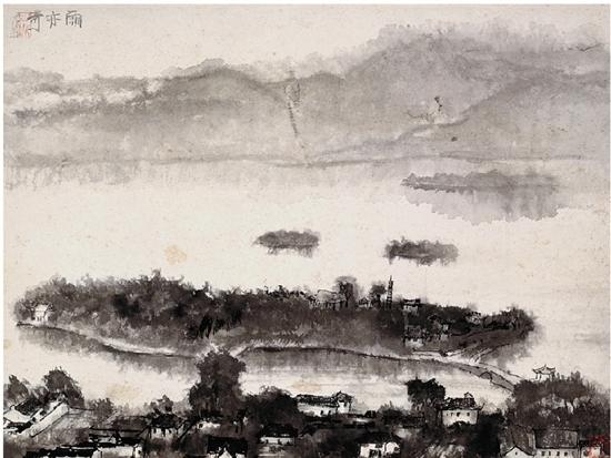 Li Keran's landscape paintings show his world[1]