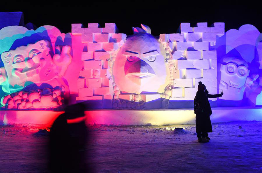 Snow Sculptures in Northeast China[1]