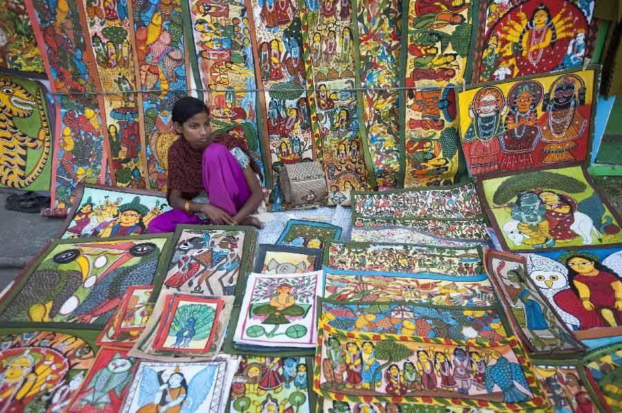 Handicraft India Fair Fair in Calcutta India