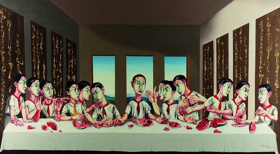 Top 10 Chinese artists on Hurun Art List 2014