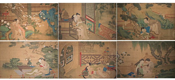 erotica art asian Antique