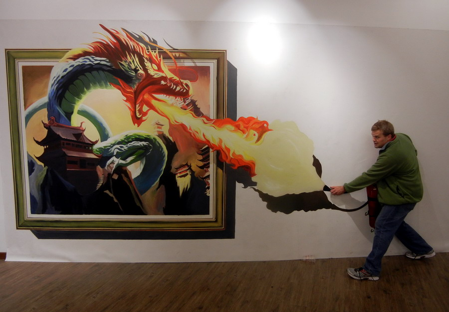 Suzhou hosts 3D Magical Art Exhibition[2]- Chinadaily com cn