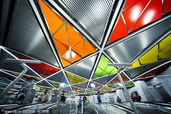 Most Beautiful Subway Stops Around The World Chinadailycomcn - The 12 most beautiful metro stations in the world