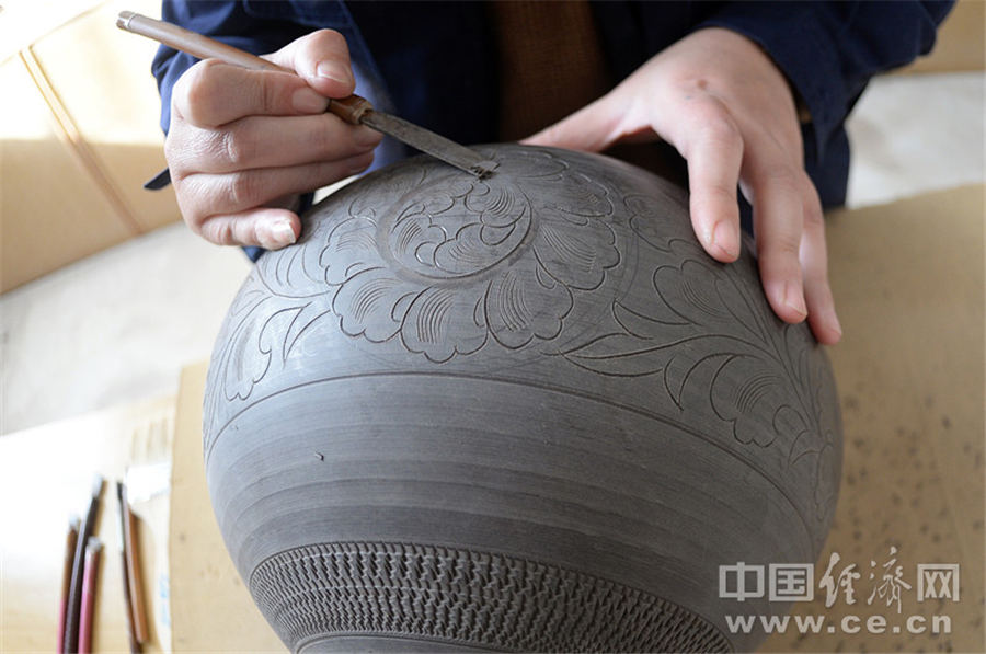 ding porcelain making technique boom in hebei