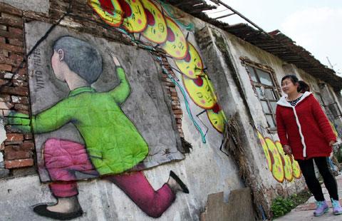 French Street Artist French Street Artist Brightens