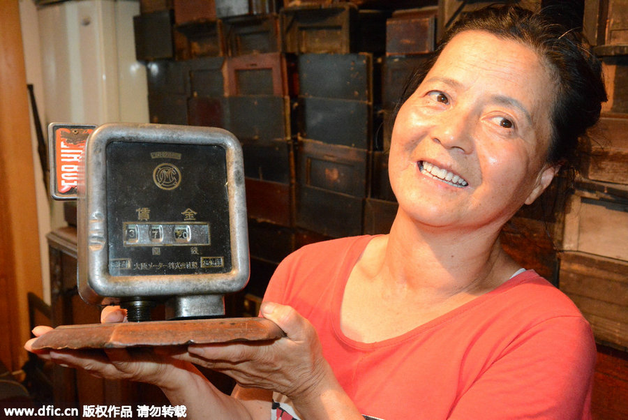 70 year old woman builds timepiece museum at home 6 chinadaily com cn