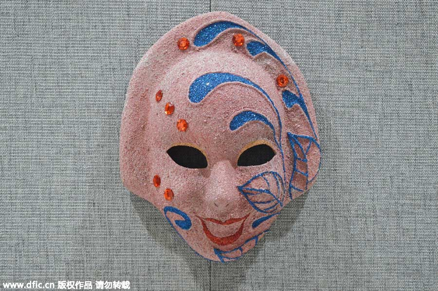a9010106d12c 1,000 masks from around the world gather in Shanghai[3]- Chinadaily ...
