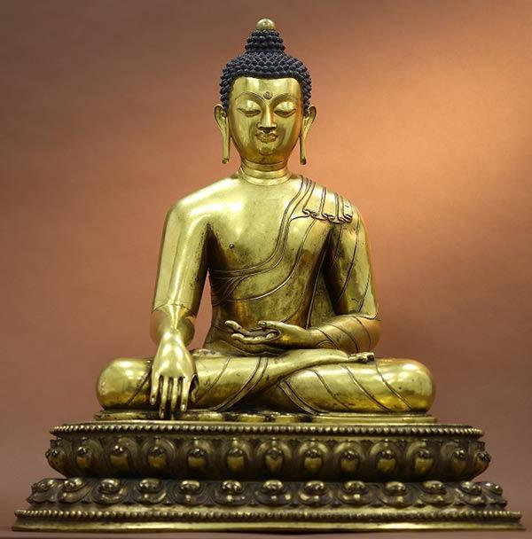 Tibetan Buddha figure tops Beijing\'s night auction[1]- Chinadaily.com.cn