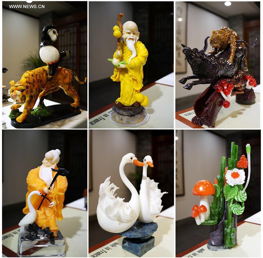 Vivid sugar figures adorn feast in NW China's Yinchuan[2