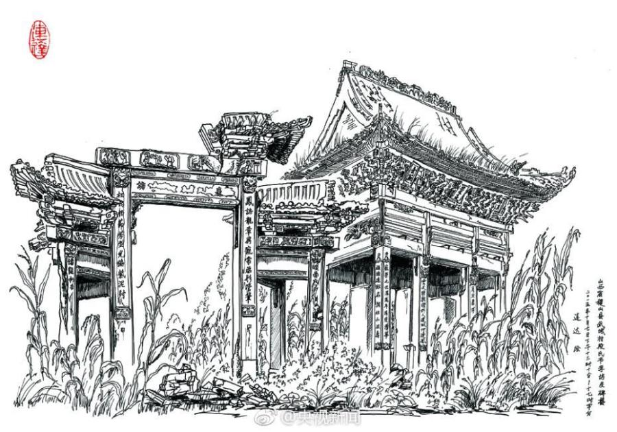 Man Shares 16 Year Passion For Pen Pictures Of Old Buildings 1