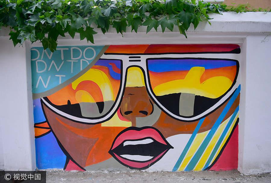 Colorful Graffiti Art Brightens Street In Shenyang Cetusnews