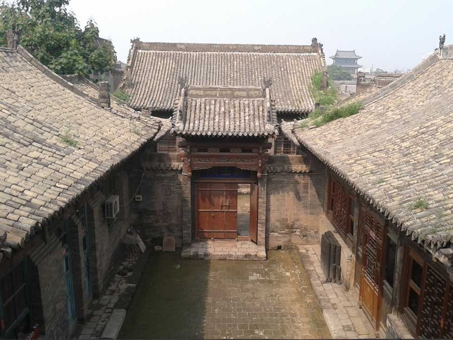 Hongfu s house a 664 year old courtyard in shanxi province s ancient