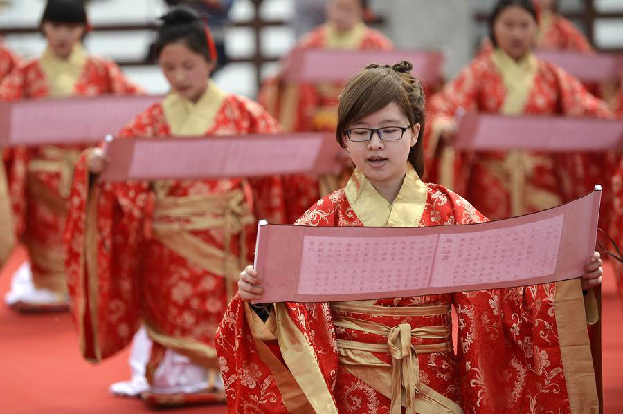 Coming-of-age ceremonies in various cultures[1]- Chinadaily.com.cn