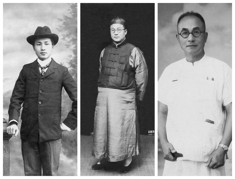 Changing costumes over 60 years in China