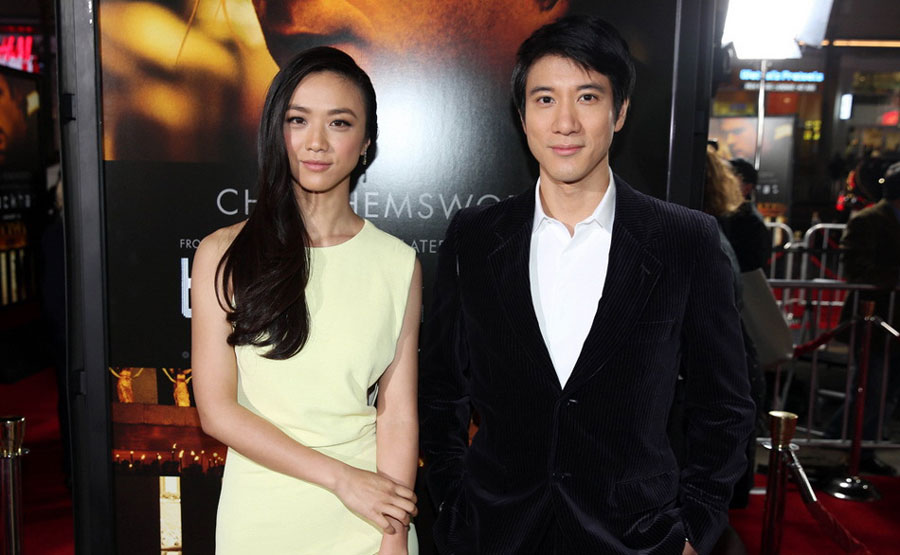 Tang Wei promotes <EM>Blackhat</em> in Hollywood