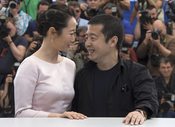 Jia Zhangke's movie screened at Cannes to compete for Palme