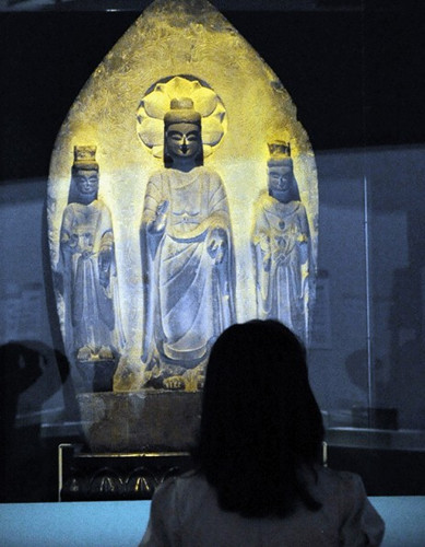 Chinese relics are labeled as 'Japanese national treasures' in Tokyo museum