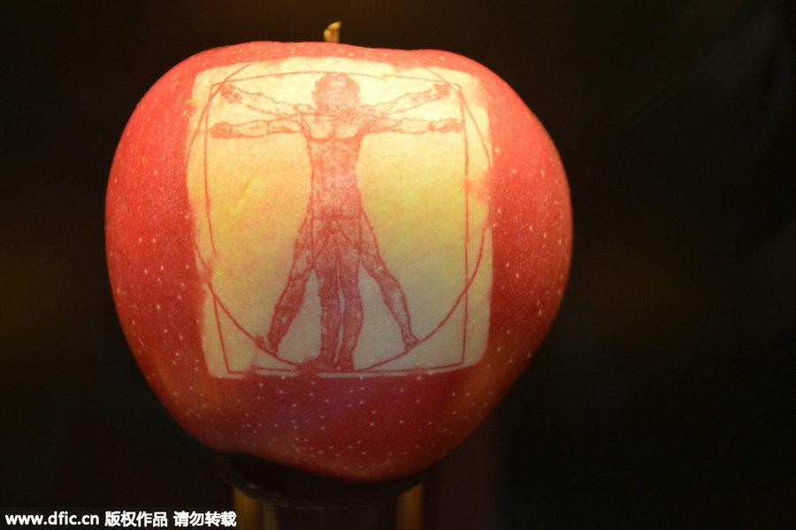french apple art wows shanghai 4 chinadaily com cn