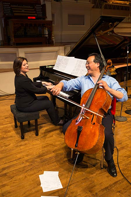 Yo-Yo Ma celebrates turning 60 with a new album