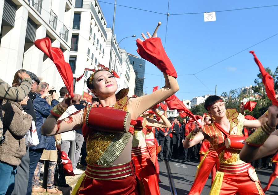 'Happy Chinese New Year' gala held in Lisbon, Portugal[3 ...