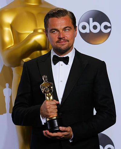 Leonardo Dicaprio Wins Best Actor Oscar For The Revenant