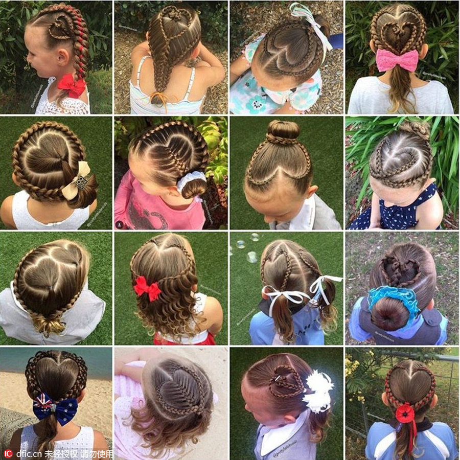 Fancy Hair Braids Little Girl Amaze Social Media