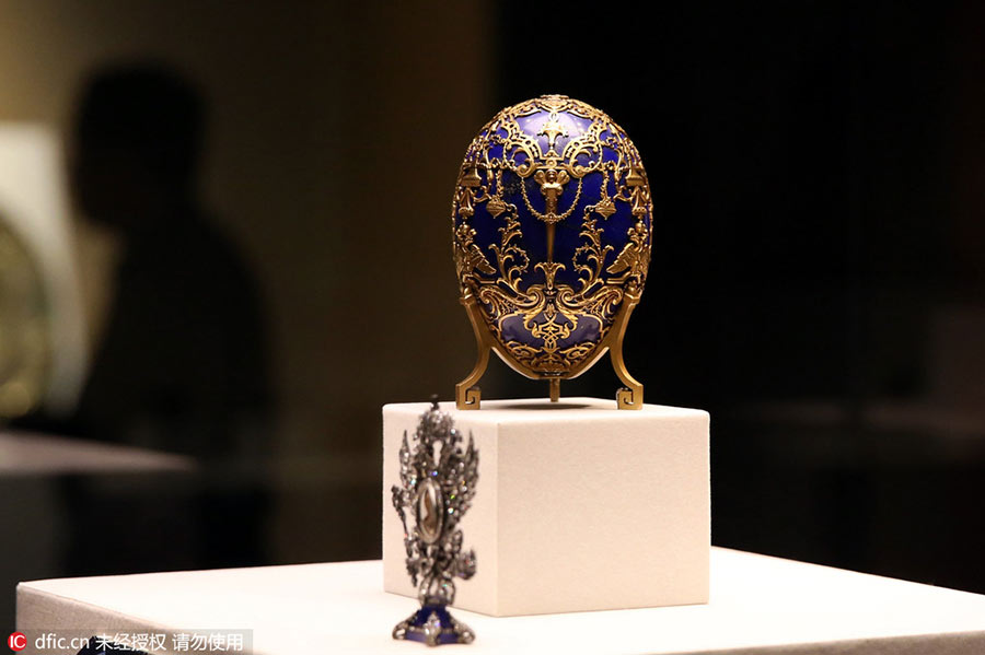 Faberge's Russian treasures on display at Palace Museum[4