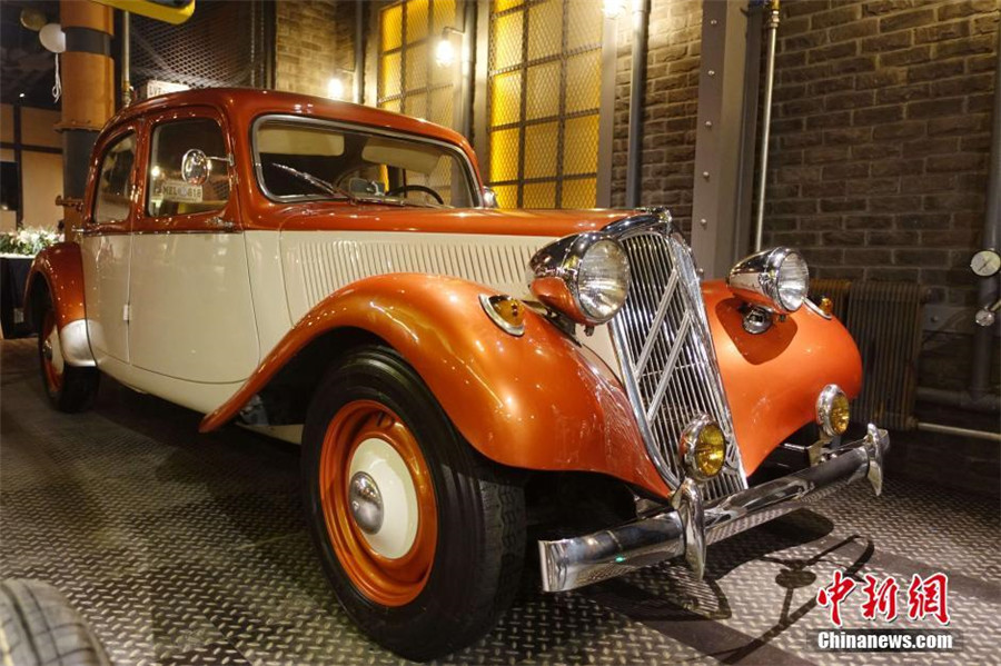 1st Chinese vintage car museum opens in Dalian[2]- Chinadaily.com.cn