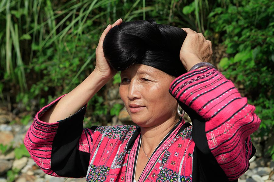 china long hair 4u