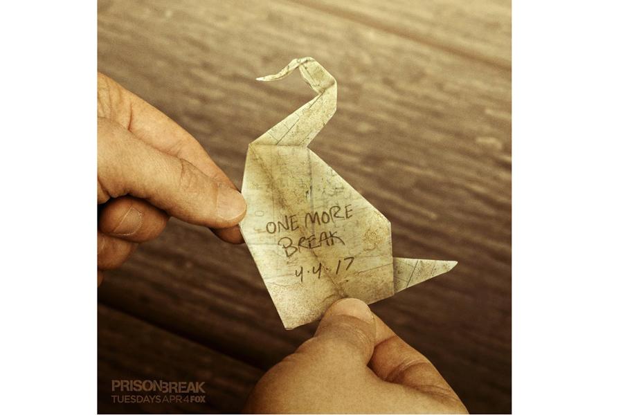 Slikovni rezultat za origami prison break 5 sezon
