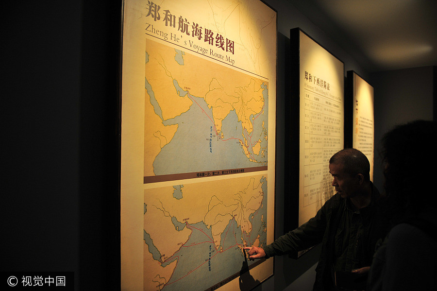 zheng he voyage paper Fourth/fifth voyage: zheng he's team split up toward the east indies, while the others traveled 8,000 miles to africa, in a place called malindi, which is located .