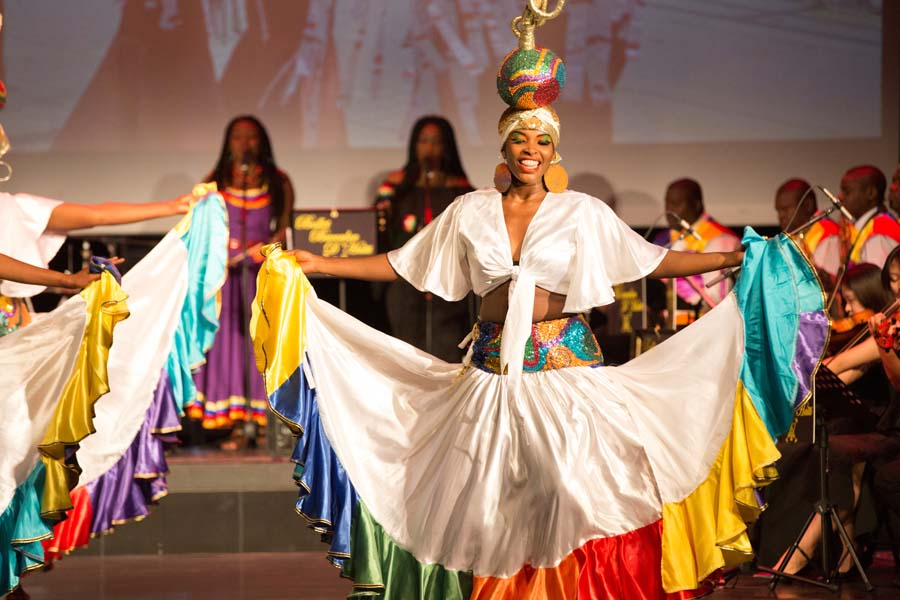 Haitian folk dance troupe holds debut show in Beijing[1]- Chinadaily