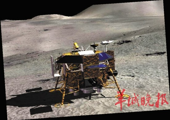 """玉兔号月球全景图_解密嫦娥三号月球车:这只兔子是个""""高富帅""""[1]- 中国在线"""