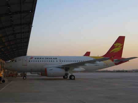 空中客车a320系列飞机天津总装线圆满完成2009年生产任务完成总装a320