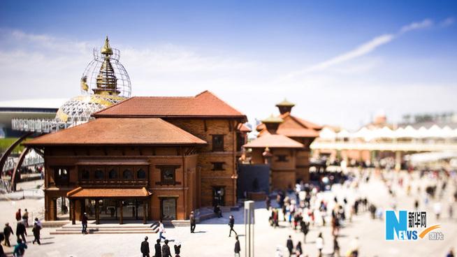 上海世博园 建筑奇观图片