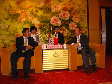 韩国庆尚南道省船舶企业代表团访问南通