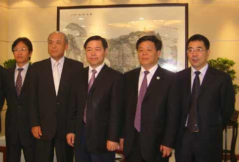 日本丸红株式会社代表团访问南通