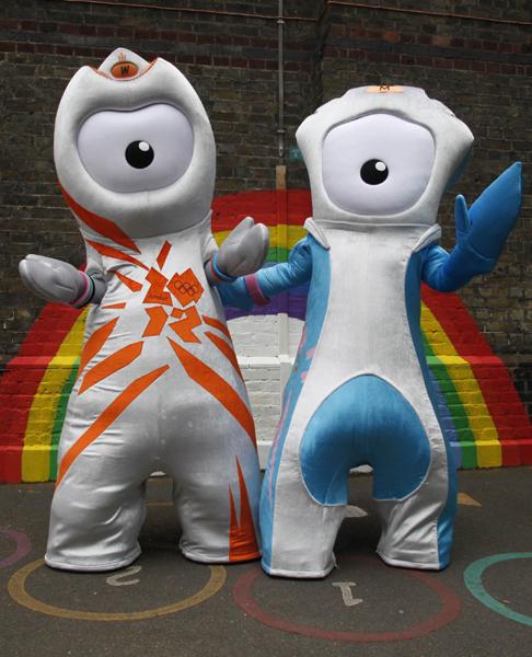 2012伦敦奥运会与残奥会吉祥物揭晓