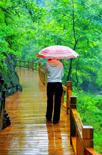 河南固始九华山风景如画图片
