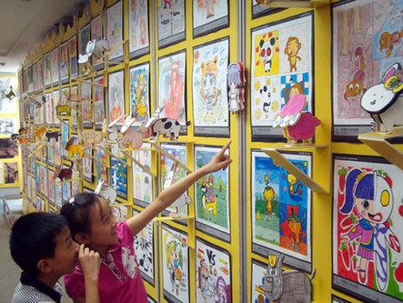 苏州举行少儿视觉艺术展