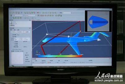 通过天河一号辅助设计飞机气动外形,超级计算机可完成模拟核爆炸等等