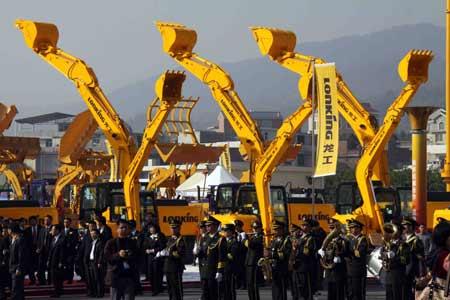 海峡两岸机械产业博览会开幕 周铁农吴伯雄祝贺