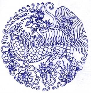 揭秘中国青花瓷传统图案及寓意