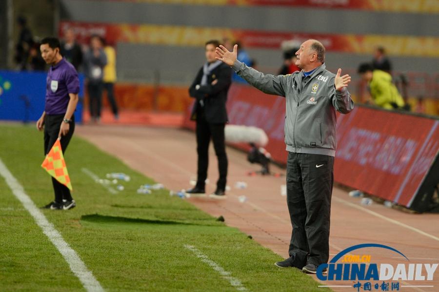 国际足球友谊赛巴西_国际足球友谊赛:巴西2-0胜赞比亚[5]- 中国在线