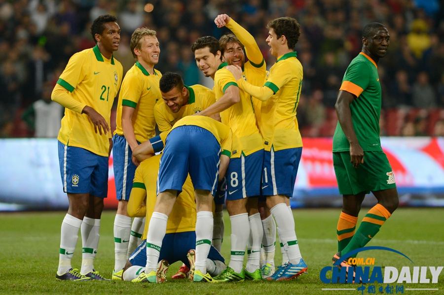 国际足球友谊赛巴西_国际足球友谊赛:巴西2-0胜赞比亚[9]- 中国在线