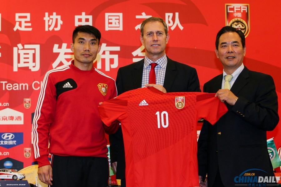 足协宣布佩兰正式出任中国男足国家队主教练